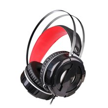 цена на V3 Light Stereo Gaming Headset Surround Sound Bass Headphones with Noise Cancelling Mic for PC Laptop