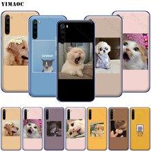 YIMAOC Cute Cat Dog Cartoon Phone Case for Xiaomi