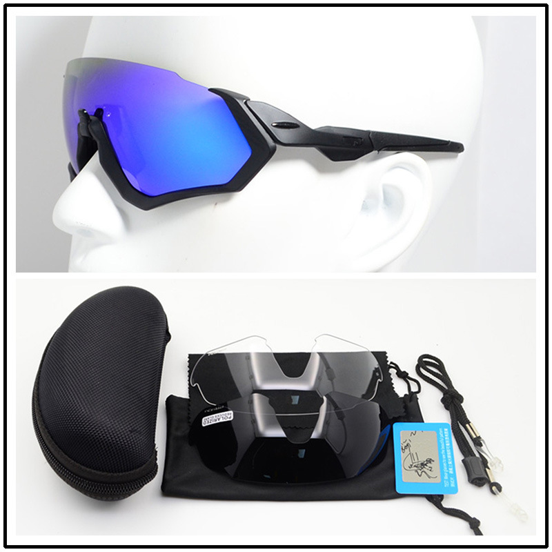 Men Women Sport Cycling Bike Eyewear Bicycle Sun Glasses Polarized Ciclismo Motorcycle Fishing Sunglasses For POC Cycling