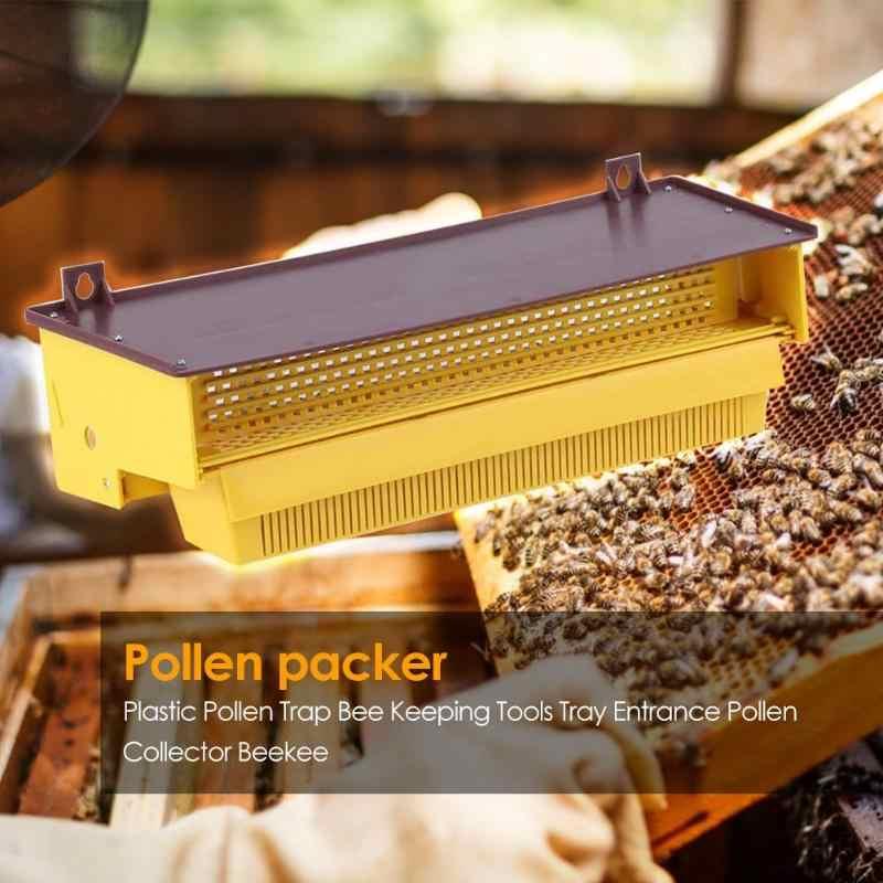 Serbuk Sari Perangkap Lebah Tray Bekerja Indah Sarang Lebah Masuk Peternakan Lebah Apiculture Alat Rumah Taman Perlengkapan Penting