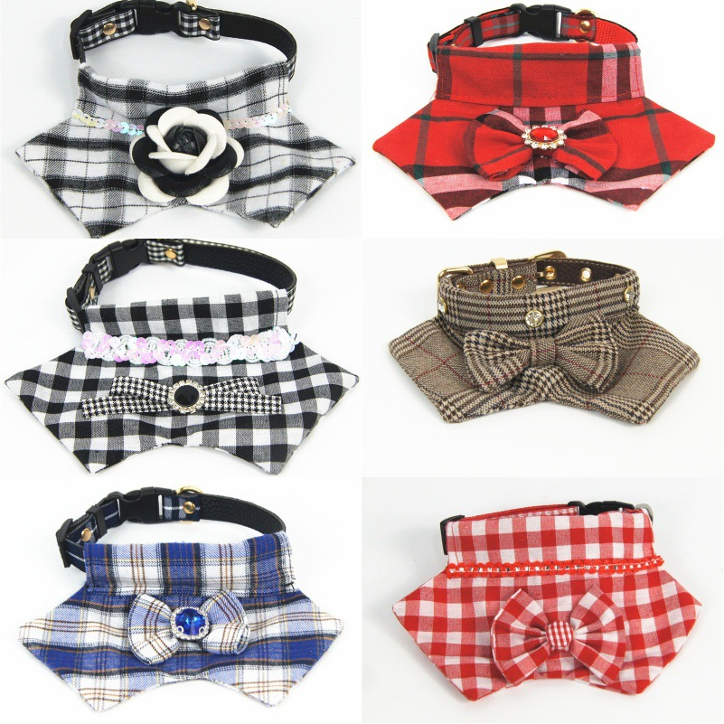 Origional New Style Multi Purpose Dogs And Cats Bibs Deconstructable Pet Collar Pet Supplies