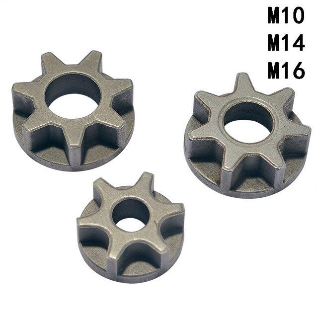 M10/M14/M16 チェーンソー 100 115 125 150 180 交換ギアさまざまな角度工具チェーンソーブラケット木工
