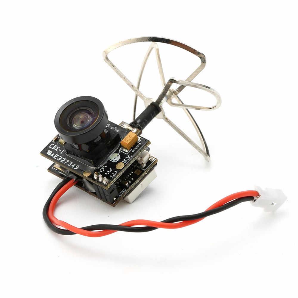 Eachine TX02 Super Mini caméra AIO 5.8G 40CH 200mW VTX 600TVL 1/4 Cmos FPV pour Multicopter FPV