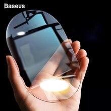 Baseus 2 шт., Автомобильное зеркало заднего вида, непромокаемая пленка, 0,15 ММ, прозрачное зеркало заднего вида, анти-туман, защитные пленки, оконные фольги, автомобильные наклейки