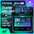 TEYES SPRO Plus Штатная магнитола For Рено Дастер 1 For Renault Duster 2015 - 2020 Android 10 до 8-ЯДЕР до 6 + 128ГБ 16*2EQ + DSP 2DIN автомагнитола 2 DIN DVD GPS мультимедиа автомобиля ...