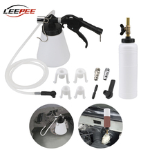 1L 0.75L Capacity Car Brake Bleeder Fluid Oil Change Drained Repair Tool Tank Container Tubes Nozzle Motorcycle Auto Accessories