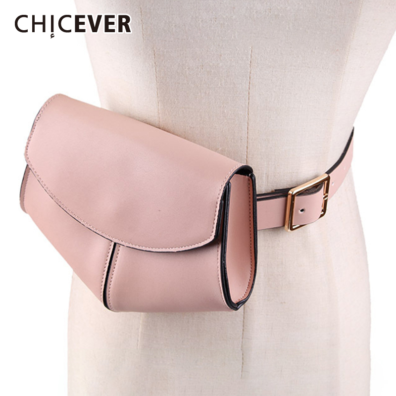 CHICEVER Print Bag PU Leather Belts For Women Vintage Dresses Accessories Belt Female Fashion New Tide 2020 Korean