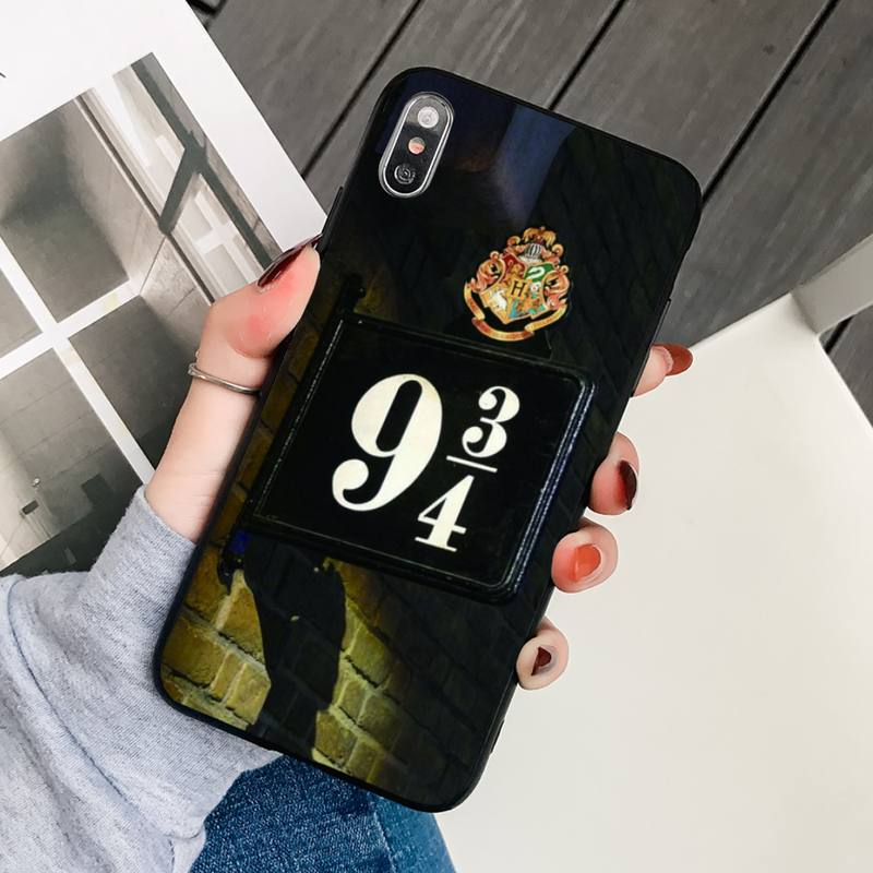 Eternally Hogwart Harries Potter Comic Phone Case Black Cover For Iphonex XS 11 12 11/12Pro Max 5 5S SE 6 6S 7 8 Plus SE2020