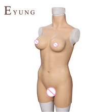 Eyung Real Silicone Sex Dolls Bodysuit Adult Sexy Full Oral Love Doll Realistic Toys for Crossdresser Men Big Breast Ass Vagina