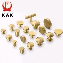 Kak latão puxadores de móveis de armário de cobre botões de armário armário armário de cozinha estilo chinês puxador de porta puxa