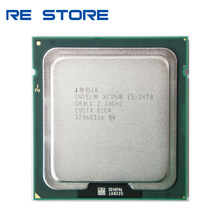 Процессор Intel Xeon E5-2470 E5 2470 2,3 ГГц Восьмиядерный 16-поточный ЦПУ 20 МБ 95 Вт LGA 1356