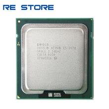 Intel Xeon E5 2470 E5 2470 2.3 GHz שמונה ליבות שש עשרה חוט מעבד 20M 95W LGA 1356 מעבד