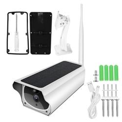 1080P Solar Power IP Camera 4X Zoom 2MP WIFI Wireless Waterproof Night Vesion APP Remote Monitor Indoor Outdoor Security Camera