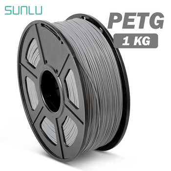 SUNLU PETG 3D Printer Filament 1.75mm 1KG Translucence PETG Filament Plastic 3d Printing Materials Fast Shipping petg 3d printing filament 1 75mm 1kg 2 2lb petg 3d printer filament dimensional accuracy 0 02mm translucence refill red