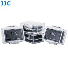 JJC 4 Pack กันน้ำแบตเตอรี่กล้องสำหรับ Canon LP E6N LP E8 LP E12 LP E17 สำหรับ Nikon EN EL15 EN EL14A สำหรับ Sony NP FZ100