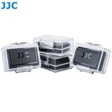 JJC 4 Pack wody na aparat obudowa baterii dla Canon LP E6N LP E8 LP E12 LP E17 dla Nikon EN EL15 EN EL14A dla Sony NP FZ100