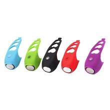 Велосипедный рожок, велосипедный Электрический колокольчик, коляска для горного велосипеда, универсальный силиконовый динамик, профессиональная мода, портативный