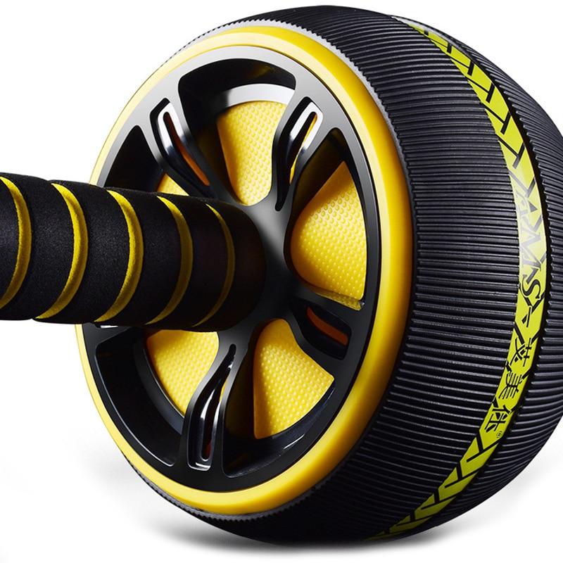 Ab Abdominal Roller Non-Slip Body Building Wheel Multifunction Exerciser Home Fitness Trainer