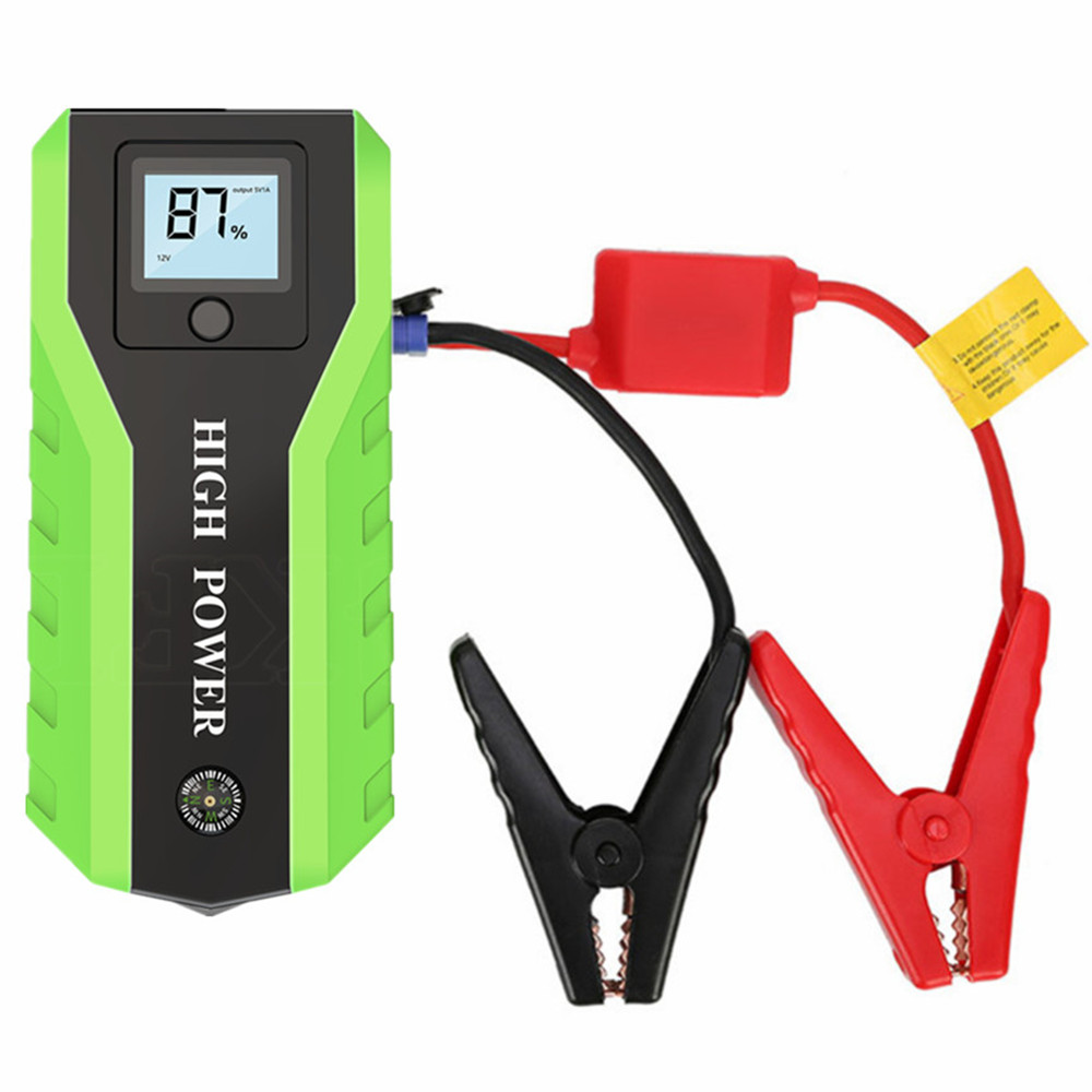 GKFLY Emergency 89800mAh Starting Device 600A Car Jump Starter Power Bank 12V Car Charger For Car Battery Charger Booster Buster