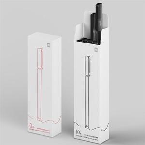 Image 5 - شاومي Mijia سوبر دائم الكتابة تسجيل القلم 0.5 مللي متر رصاصة القلم قلم أسود توقيع أقلام السلس سويسرا الملء ميكوني اليابان الحبر