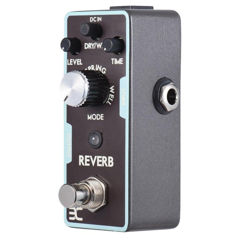 ABZB-Eno Reverb Guitar Effect Pedal Reverb Guitar Pedal True Bypass Guitar Parts & Accessories