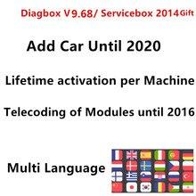 Diagbox 9.68 lexia 3 pp2000 chips completos 921815c firmware obd2 ferramenta de diagnóstico automática lexia3 v7.83 para citroen/peugeot scanner de código