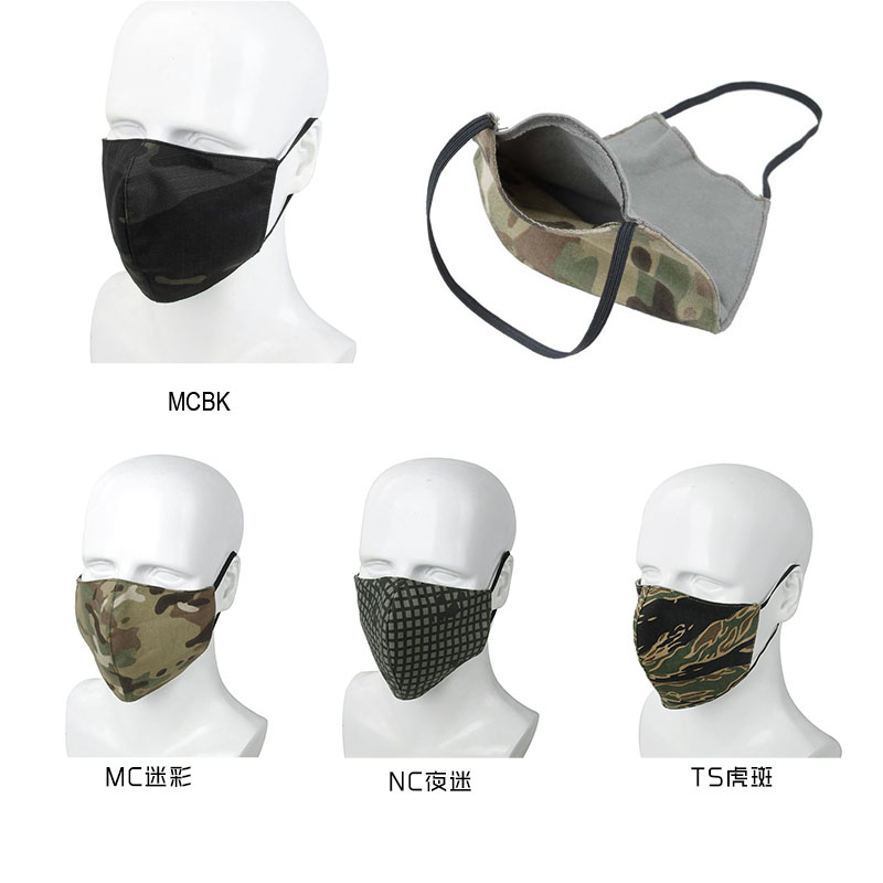 TMC NEW Multicam Half Face Mask Tactical Protective Gear Washable Dustpoof Camouflage Mask Cycling Face Cover