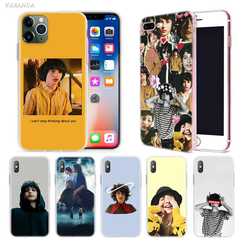 Finn Wolfhard Stranger Things Case voor Apple iphone 11 Pro X XS Max XR 7 8 6 6S Plus 7S 5 S SE 5C Soft TPU Coque Telefoon Carcasa C