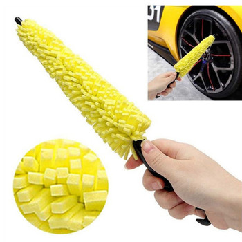 car Wheel Rims Tire Washing Brush Sponges For BMW E34 F10 F20 E92 E38 E91 E53 E70 X5 M M3 E46 E39 E38 E90 M140i 530i 128i image