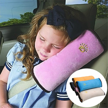 Car-Pillow Vehicle-Shoulder-Cushion-Pad Protection-Support Auto-Safety-Seat-Belt Kid