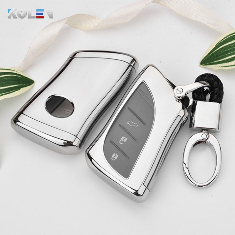 Soft TPU PC Car Remote Key Case Cover Holder For Lexus IS ES GS GX NX RX LX LC RC ES200 ES300H ES350 Accessories Shell