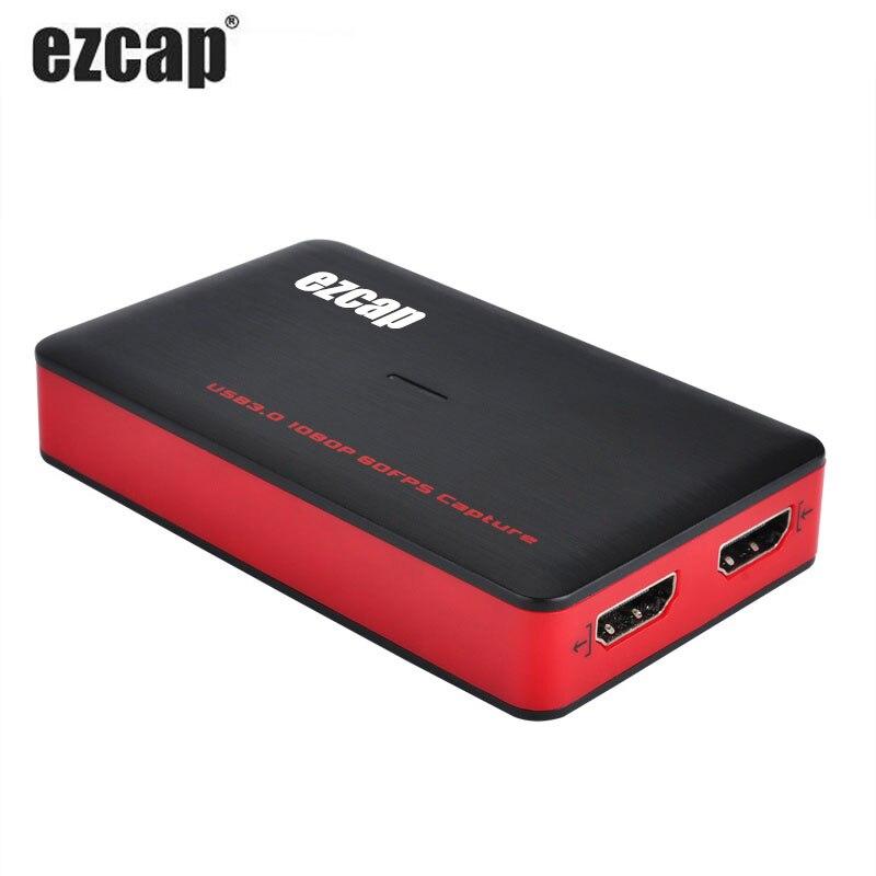 1080P 60 кадров в секунду коробка для записи видео с телефона HDMI на USB 3,0 карта видеозахвата для Mac Windows vMix OBS потоковая трансляция в прямом эфире