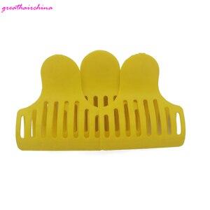 10 stücke haar clips Haar Verlängerung Werkzeuge Farben gelb Für Mädchen Barrettes Haar Pins Zubehör Salon Styling Werkzeuge