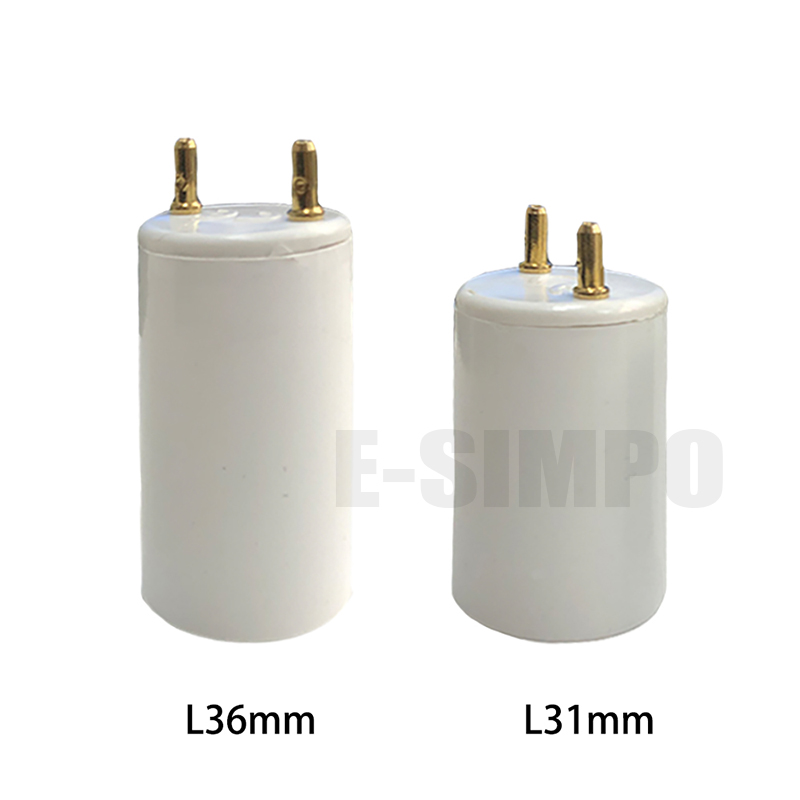 2pcs <font><b>T8</b></font> to T5 14W 28W Fluorescent Tube Light <font><b>Socket</b></font> adapter G13 to G5 <font><b>lamp</b></font> base holder converter, install CFL T5 in <font><b>T8</b></font> fixture image
