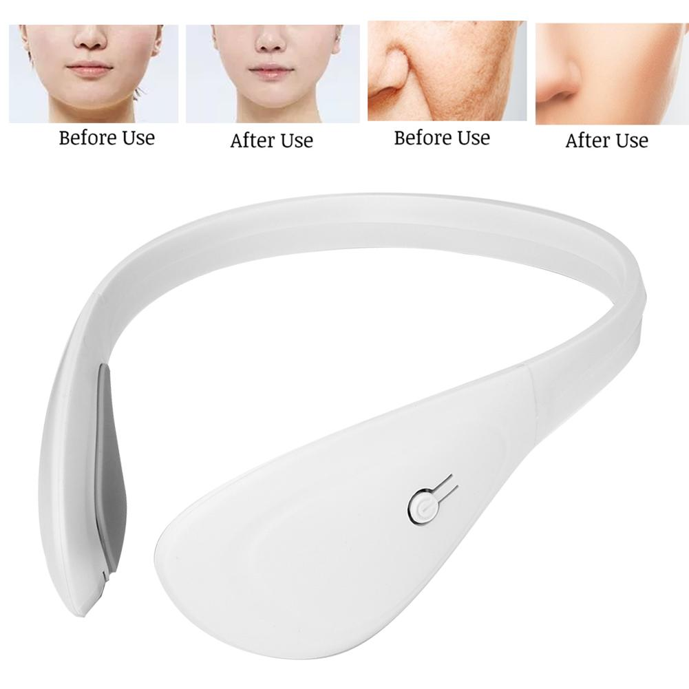 Electric Facial Skin Scraping Anti-aging Rejuvenation Machine V Shape Face Thin Shaper Chin Lifting Slimming Massager Device