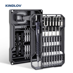 KINDLOV Screwdriver Set Magnetic Screw Driver Bits Precision Torx Phillips Hex Bit 73 In 1 Multitools Phone Repair Hand Tool Kit(China)