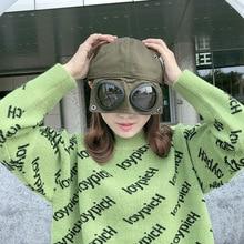 Унисекс забавные очки пилота бейсболка с надписью вышивка Модные женские мужские хип-хоп Snapback шапки наружная вышивка на кепке hombre