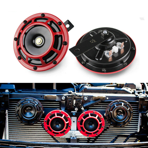 Super Loud-speakers Car Speakers Electric Compact Air Horn Loud Sound For 12V Car Truck Lorry Motorcycle Kit Auto Sound Signal