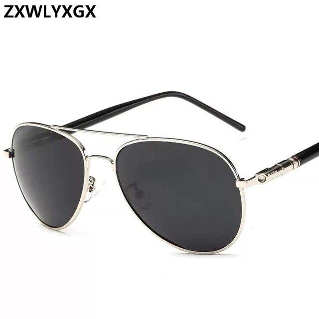 Clásico gafas de sol polarizadas conducción de los hombres gafas negro gafas de sol de aviador de marca de diseñador para hombre gafas de sol Retro Para hombres/mujeres 5