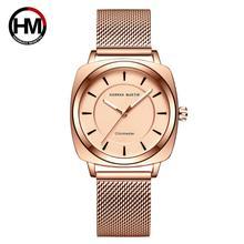 ผู้หญิงนาฬิกาญี่ปุ่นควอตซ์แฟชั่น INS สไตล์นาฬิกาข้อมือหญิงหรูหราชุดกันน้ำ Relogio Feminino Drop Shipping