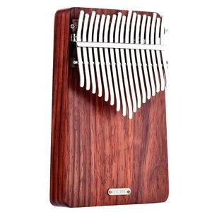 Image 2 - LingTing LT K17A17 keys Kalimba Mbira Thumb Piano(wind whisperer)