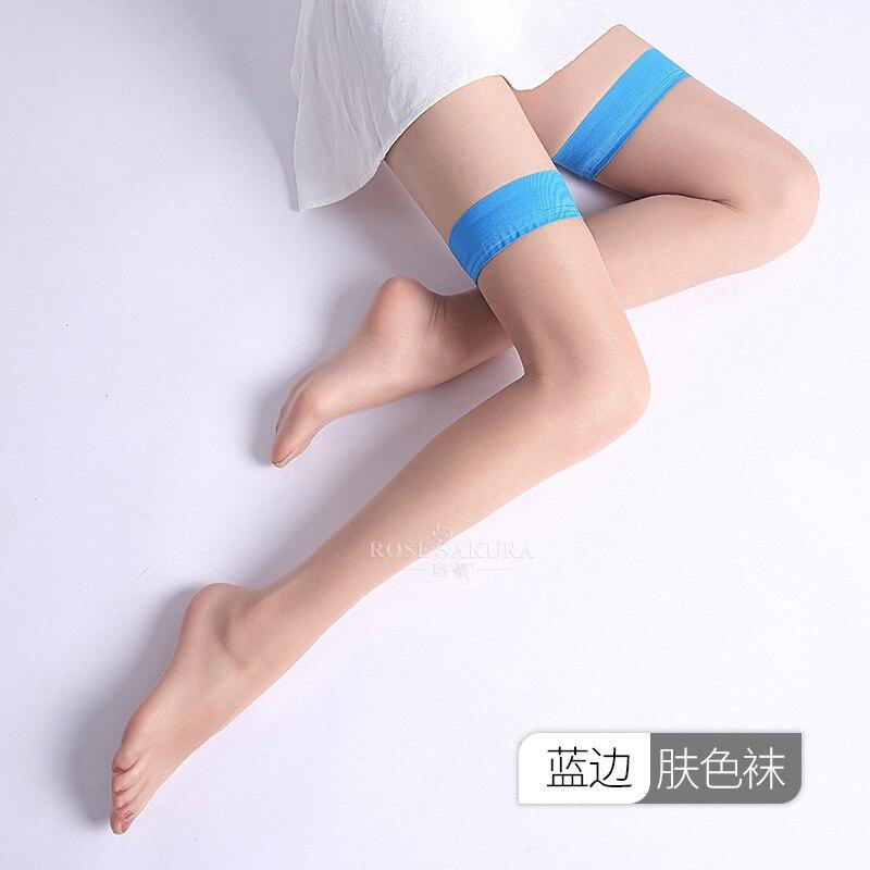 Blue edged nude