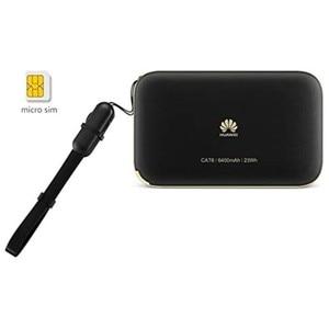 Image 4 - Huawei社E5885Ls 93a Cat6 携帯wifi PRO2 300 150mbpsの 4 4g lteモバイルwifiホットスポットとe5885 6400 2600mahのパワーバンクバッテリールータモデム