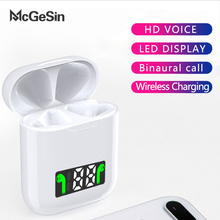 McGeSin i99 TWS Wireless Earphones Bluetooth Headphones With Led Display Headset Music Earbud Support Wireless Charging With Mic