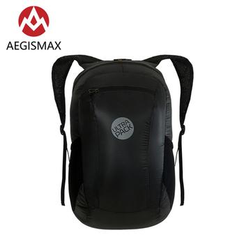 AEGISMAX 18L Unisex składany plecak ultralekki odkryty Camping Travel alpinizm kolarstwo bieganie wodoodporny plecak tanie i dobre opinie CN (pochodzenie) Miękka osłona NYLON outdoor bag