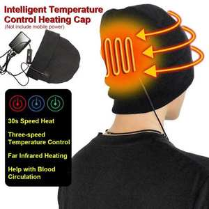 Heated-Hat Cold-Protection Warm Electric Rechargeable Winter Men Women Windproof Fishing