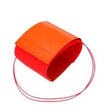 12V 240W Flexible Heating Pad Element Silicone Nitrous Bottle Heater Mat 10x30cm Orange Heating Pads цена