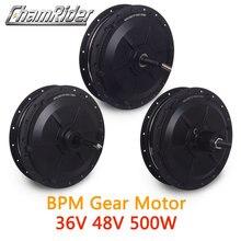 36V 48V 500W BPM MX01C MX01F MX01R Gear Hub Motor High Speed E bike Motor Front/Rear/Cassette Wheel Drive MXUS Brand freehub