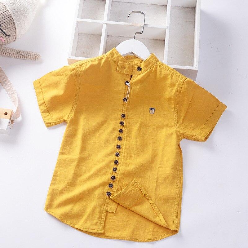 Boys Soft Fabric Casual-Shirt