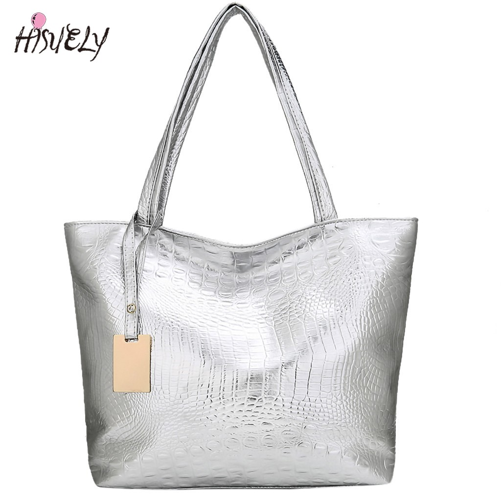 Женская сумка с лазерной голограммой, кожаная сумка на плечо, женская сумка для покупок, вместительная Повседневная Сумка-тоут, новинка 2021